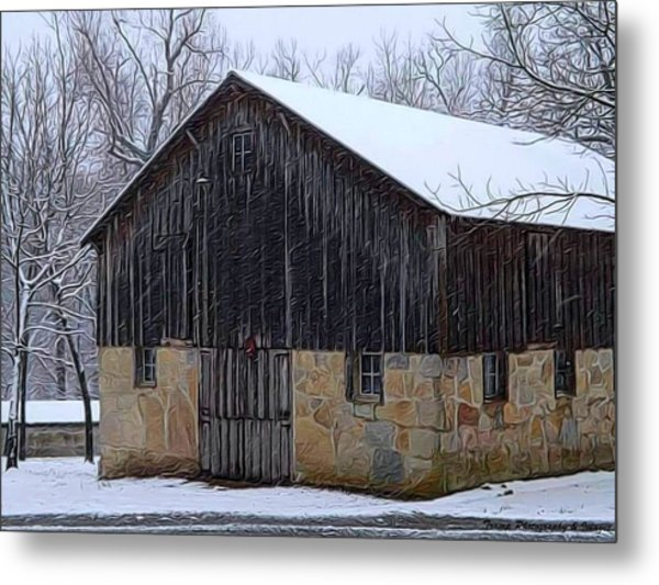 Winter Arrival Metal Print