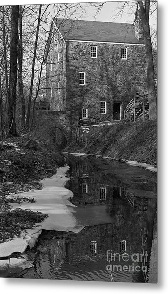 Winter At Cooper Mill Metal Print