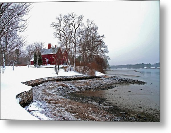 Winter At Perkins House  Metal Print