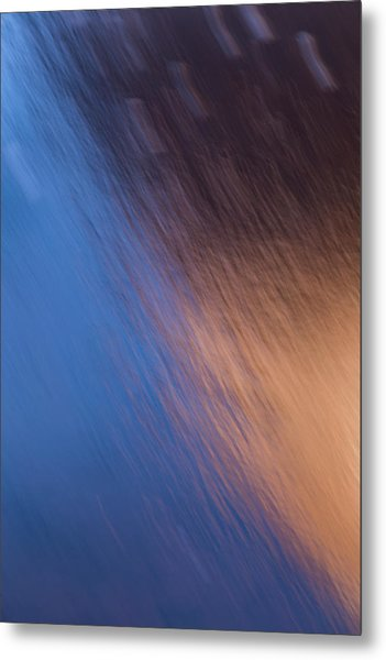 Winter Canyon Blues Metal Print