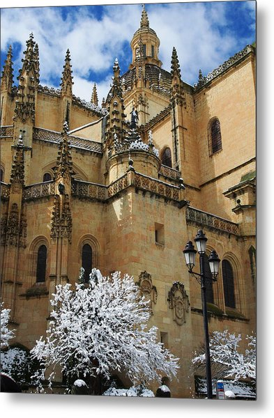 Winter Cathedral Metal Print