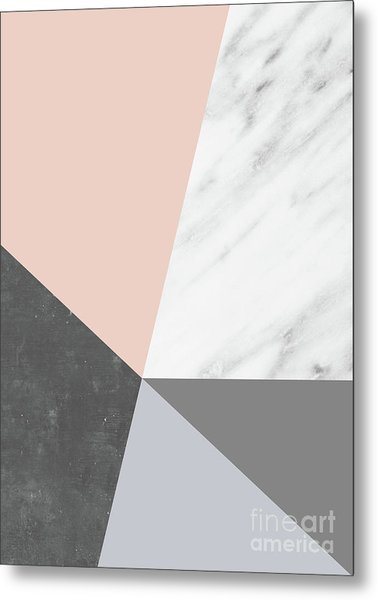 Winter Colors Collage Metal Print