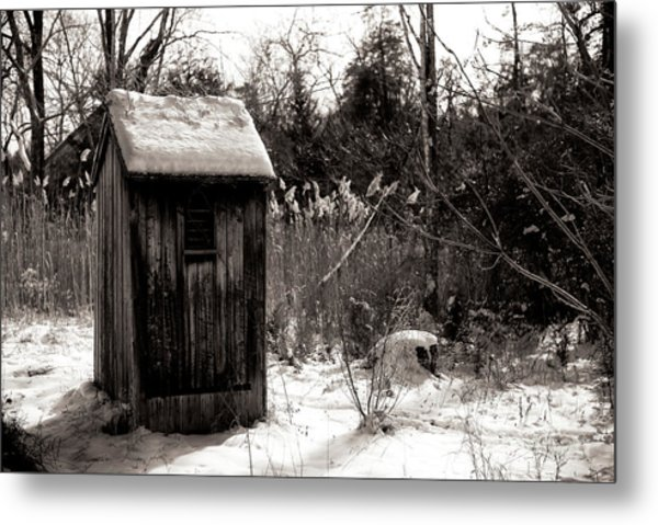 Winter Comfort Metal Print by John Rizzuto