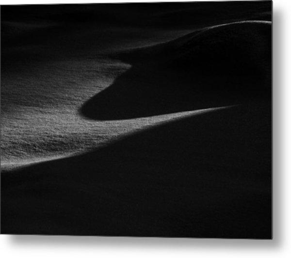 Winter Dunes Metal Print by Stan Wojtaszek