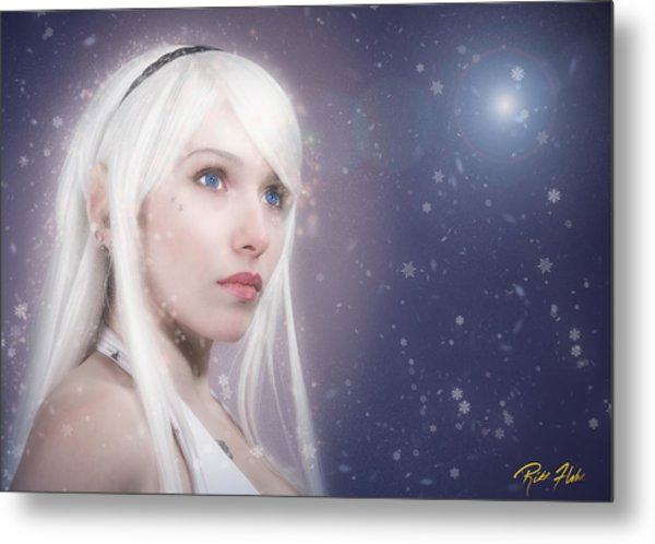 Winter Fae Metal Print