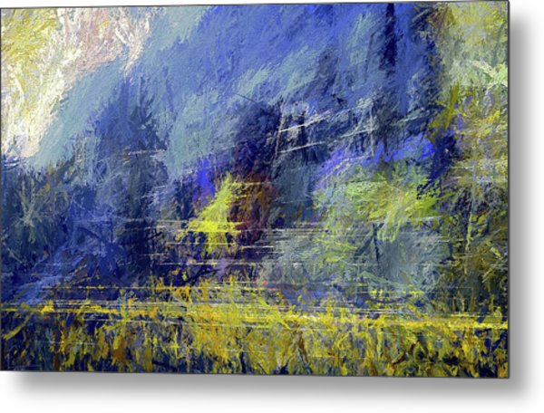Winter Frosty Morning Metal Print