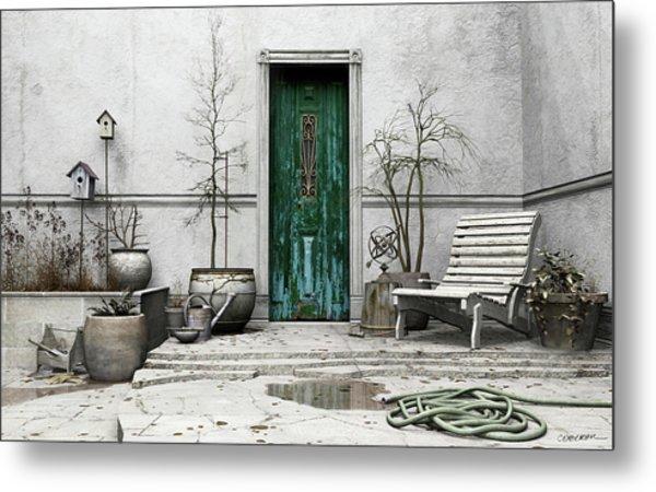Winter Garden Metal Print