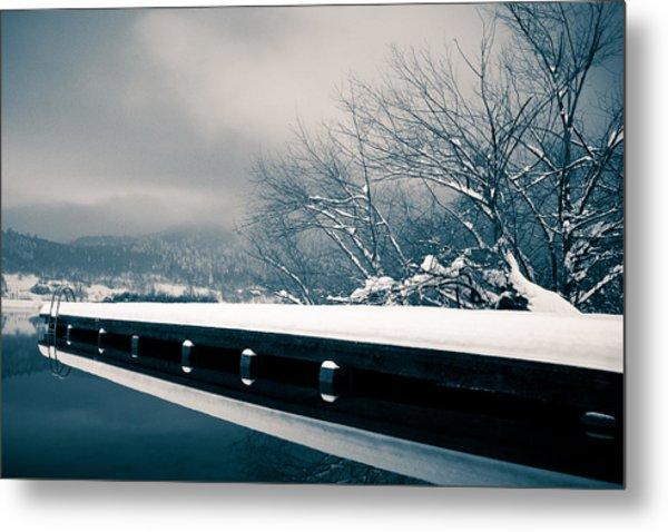 Winter Idyl Metal Print by Luka Matijevec
