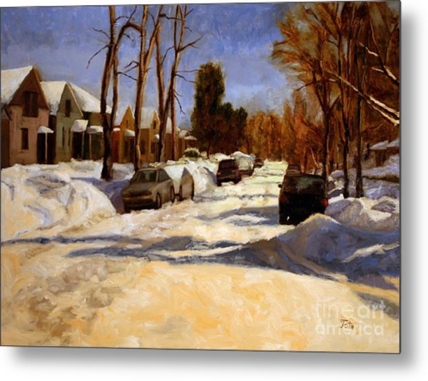 Winter In The Highlands Metal Print by Tate Hamilton