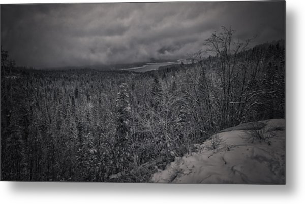 Winter Is Coming Metal Print