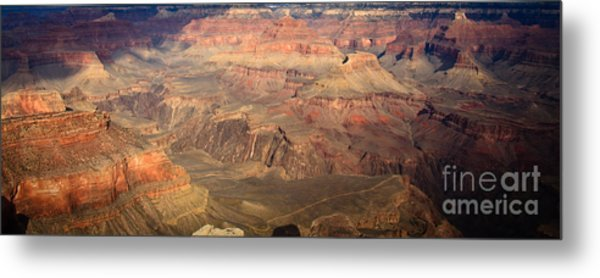 Winter Light In Grand Canyon Metal Print
