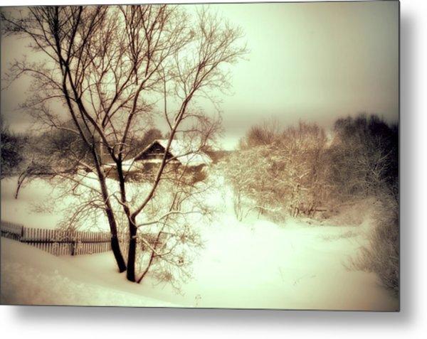 Winter Loneliness Metal Print