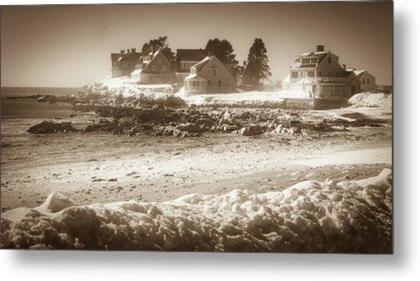 Winter - Lord's Point - Kennebunk Metal Print