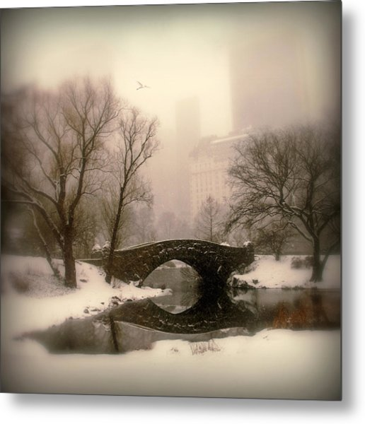 Winter Nostalgia Metal Print