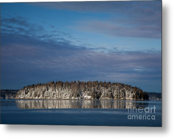 Winter On Taunton Bay Metal Print