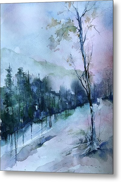 Winter Paradise Metal Print