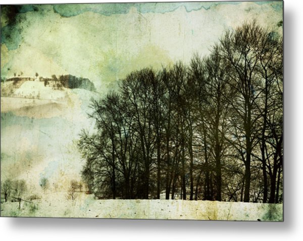 Winter Remembrances Metal Print