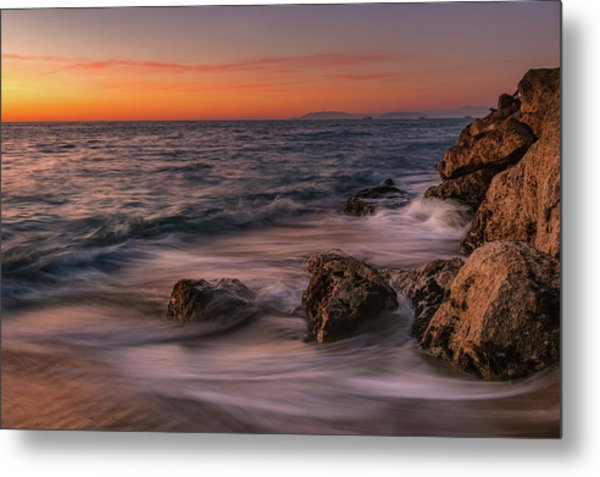 Winter Sea Metal Print