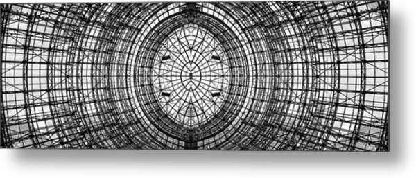 Winter Garden Atrium Metal Print