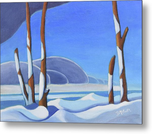 Winter Solace II Metal Print