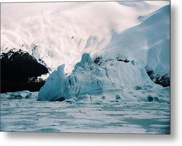 Winter Soltice Alaska  Metal Print