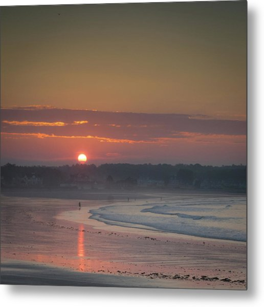 Winter Sunrise - Kennebunk Metal Print