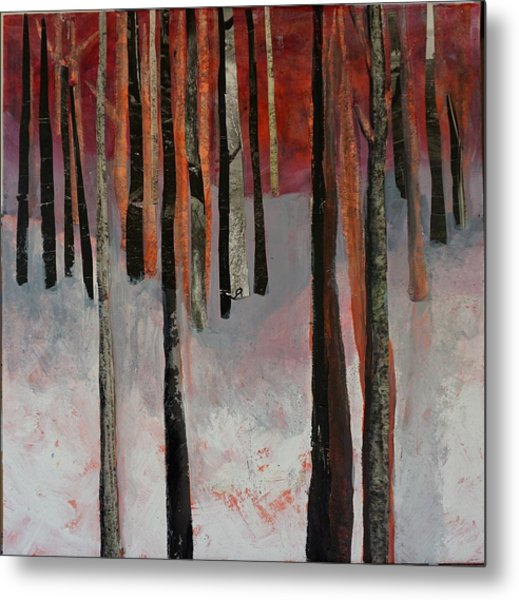 Winter Trees 1 Metal Print