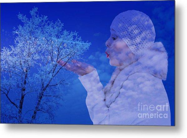 Winter's Breath  Metal Print