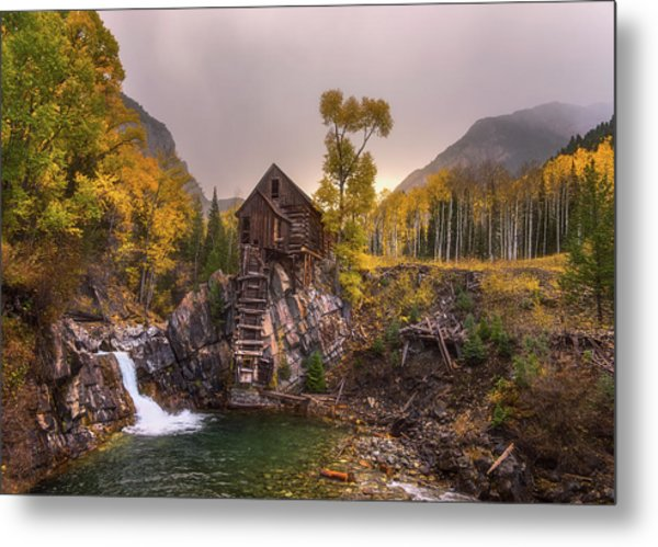 Metal Print featuring the photograph Winter's Coming by Darren White