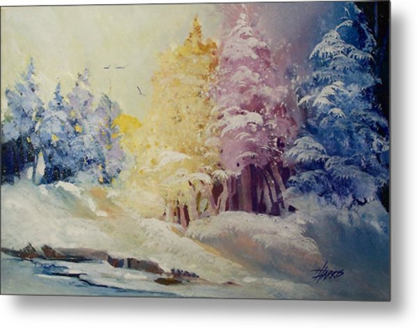 Winter's Pride Metal Print