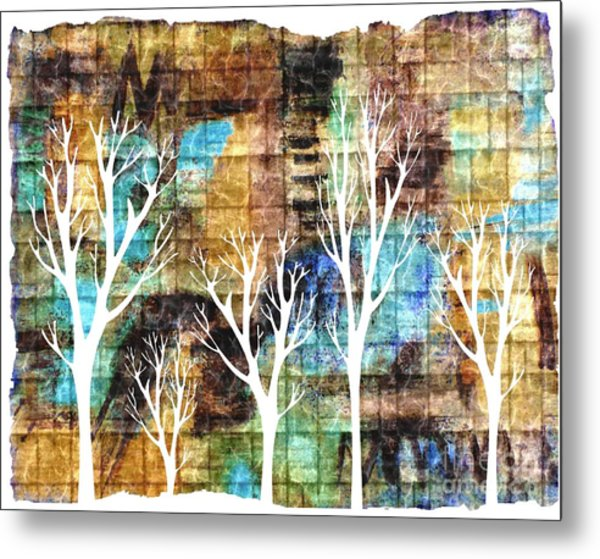 Winterscape 2 Metal Print by Mimo Krouzian