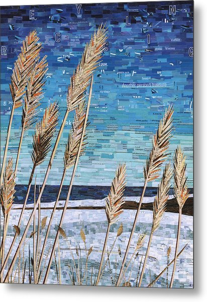 Wintertime On Lake Erie Metal Print