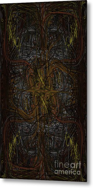 Wired Metal Print