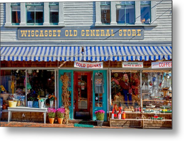 Wiscasset General Metal Print