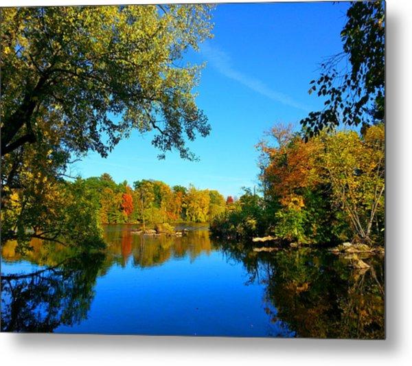 Wisconsin River Colors 2 Metal Print