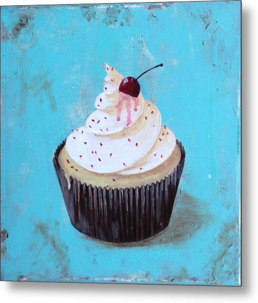 With A Cherry On Top Metal Print