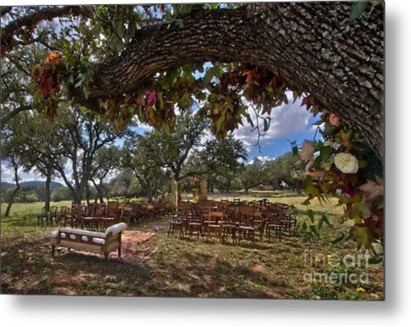 With This Ring...2 Metal Print