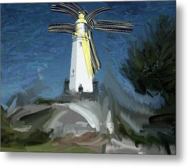 Withernsea Lighthouse Metal Print by Phil Ward