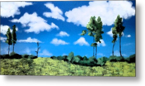 Within My View Metal Print by Gousalya Siva
