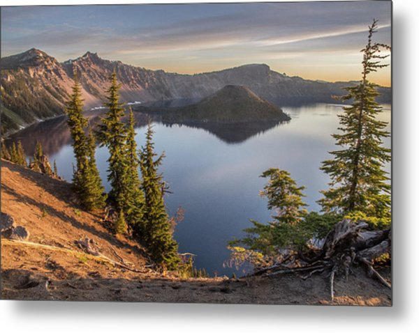 Wizard Island Beauty Metal Print