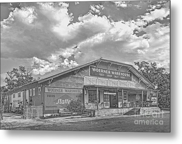 Woerner Warehouse Metal Print