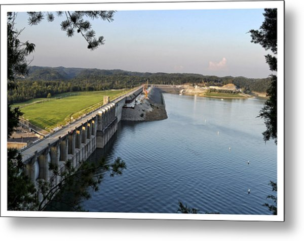 Wolf Creek Dam Metal Print