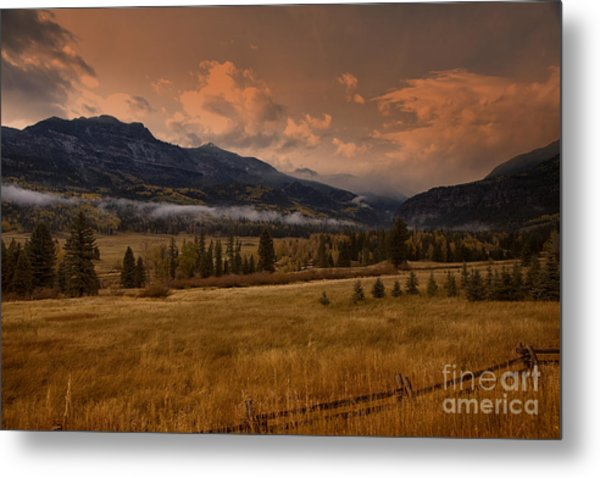 Wolf Creek Pass Metal Print