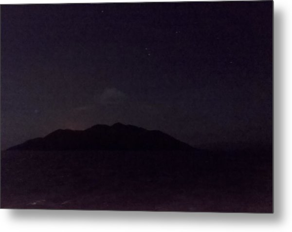 Wolf Volcano Before Eruption Metal Print
