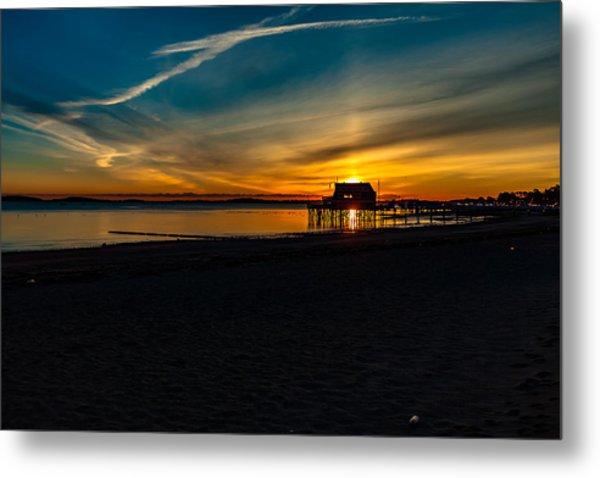 Wollaston Beach Sunrise 3 Metal Print