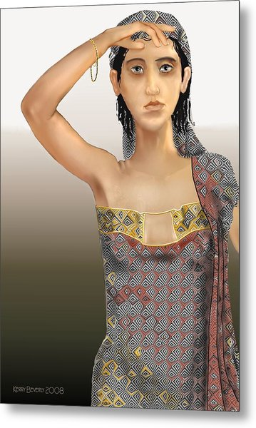 Woman 5 Metal Print