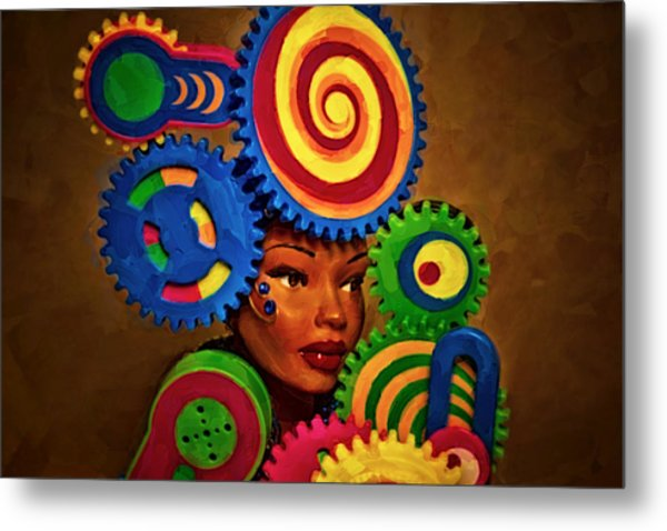 Woman Of Colors  Metal Print