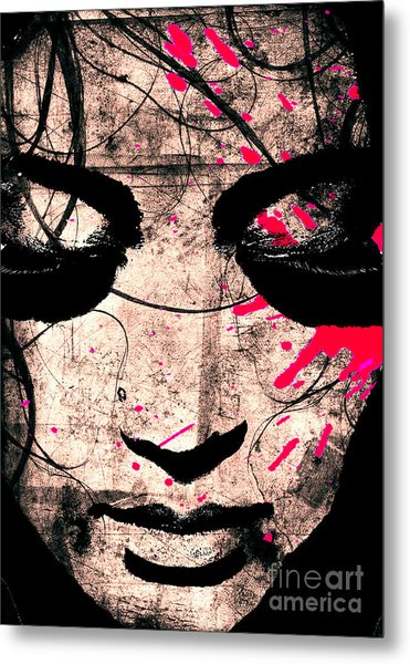 Woman Metal Print by Ramneek Narang