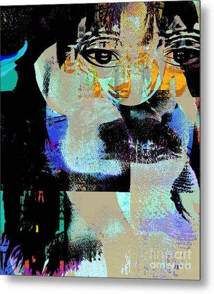 Womanhood Not For Sale Metal Print by Fania Simon