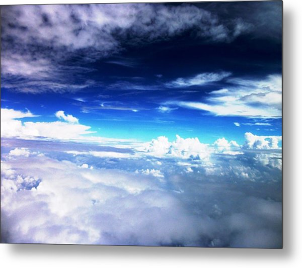 Wonder Of Cloudz Metal Print